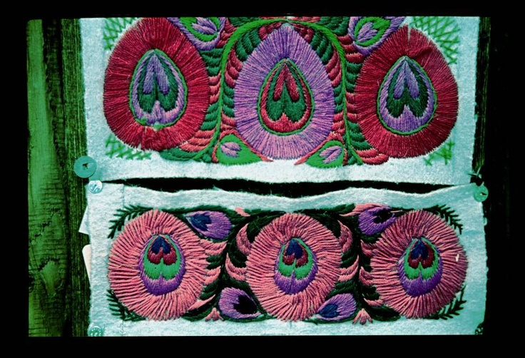 Szűr embroidery,Phot:Gönyei Sándor/Néprajzi Múzeum | Online Gyűjtemények - Etnológiai Archívum, Diapozitív-gyűjtemény