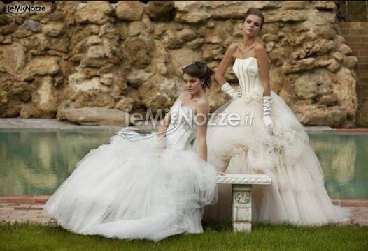 http://www.lemienozze.it/operatori-matrimonio/vestiti_da_sposa/silwa_sposa/media  Abiti da sposa con corpetti preziosi