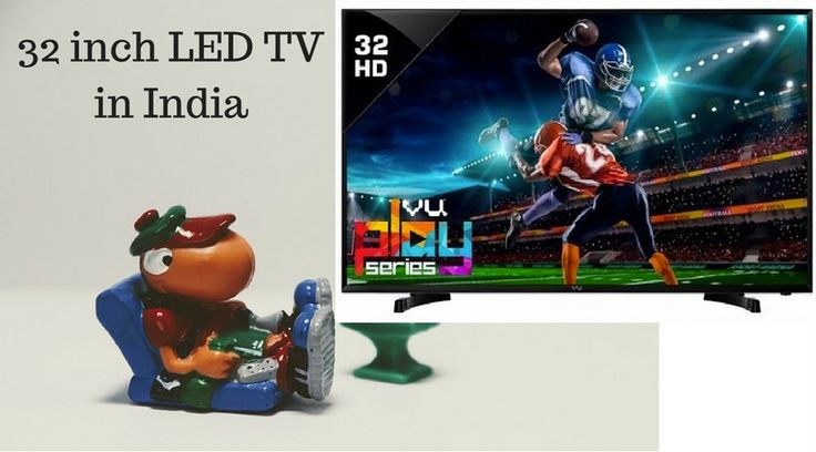 If you are planning to buy a new TV for your bedroom, a 32-inch LED TV is your best bet today. It is ideal for rooms where the viewing distance ranges between 4 to 8 feet.