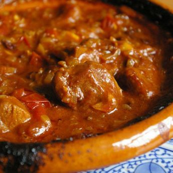 Slow Cooker Lamb Tagine is a great Moroccan slow cooked lamb dish that is perfect for a horrible winter's day!