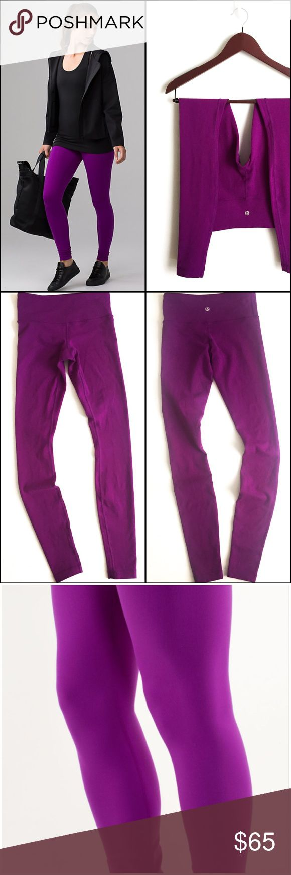 "Lululemon Wunder Under Pant ▫️Perfect for yoga, gym, to-and-from  ▫️Fabric: Luon ▫️Properties: four-way stretch, moisture-wicking, preshrunk, chafe-resistant, breathable ▫️Rise: medium ▫️Leg fit: tight  ▫️Inseam: 29"" ▫️Piling throughout pant ▫️Overall Lululemon Pant in Good preowned condition lululemon athletica Pants"