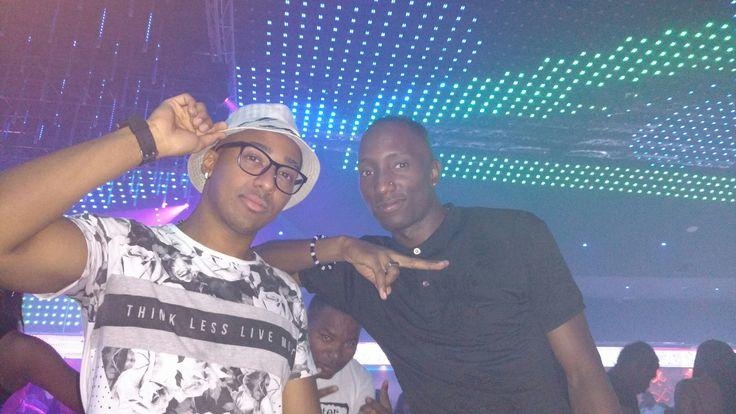 With my nigga Dj Stevens Mcgrady   el man que prende todo party 🔥📽