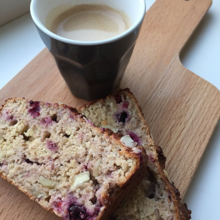 Frambozen kwarkbrood uit I Love Health