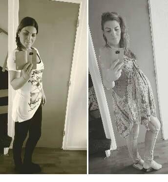 Charissa: Ik ben tijdens mijn zwangerschap 25 kilo aangekomen! Ik kwam van 65 kilo en aan het einde van mijn zwangerschap.. 90 kilo.. Pfff.. Deze overtollige kilo's moesten er zo snel mogelijk af! Inmiddels (4 maanden later) weeg ik 66.5 kilo en voel ik mij beter dan ooit! Buiten het feit om dat ik afgeslankt ben, is mijn (droge) huid rustiger, mijn haar glanst en zijn mijn nagels sterker!