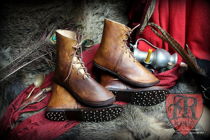 Boots to fight - medieval