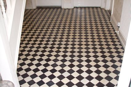 Black & White Tiles Victorian Unglazed 100x100 Tiles