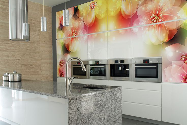 Make the kitchen your playground where you can zip away on that great bottle of red wine. www.mural24.co.uk