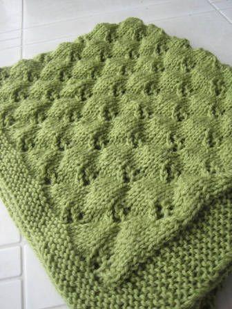 Copertina per bimbi, lo schema per farla a maglia