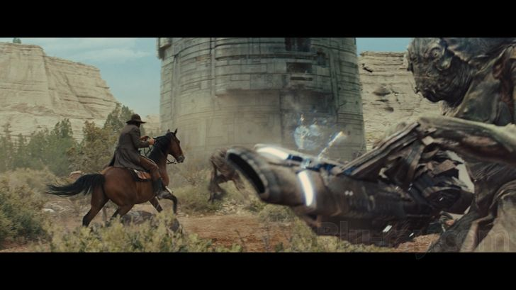 Cowboys and Aliens /Final battle when the Cowboys and the ...