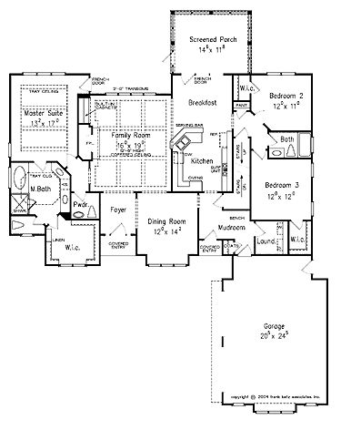 Cottage floor plans french country and floor plans on for French cottage floor plans