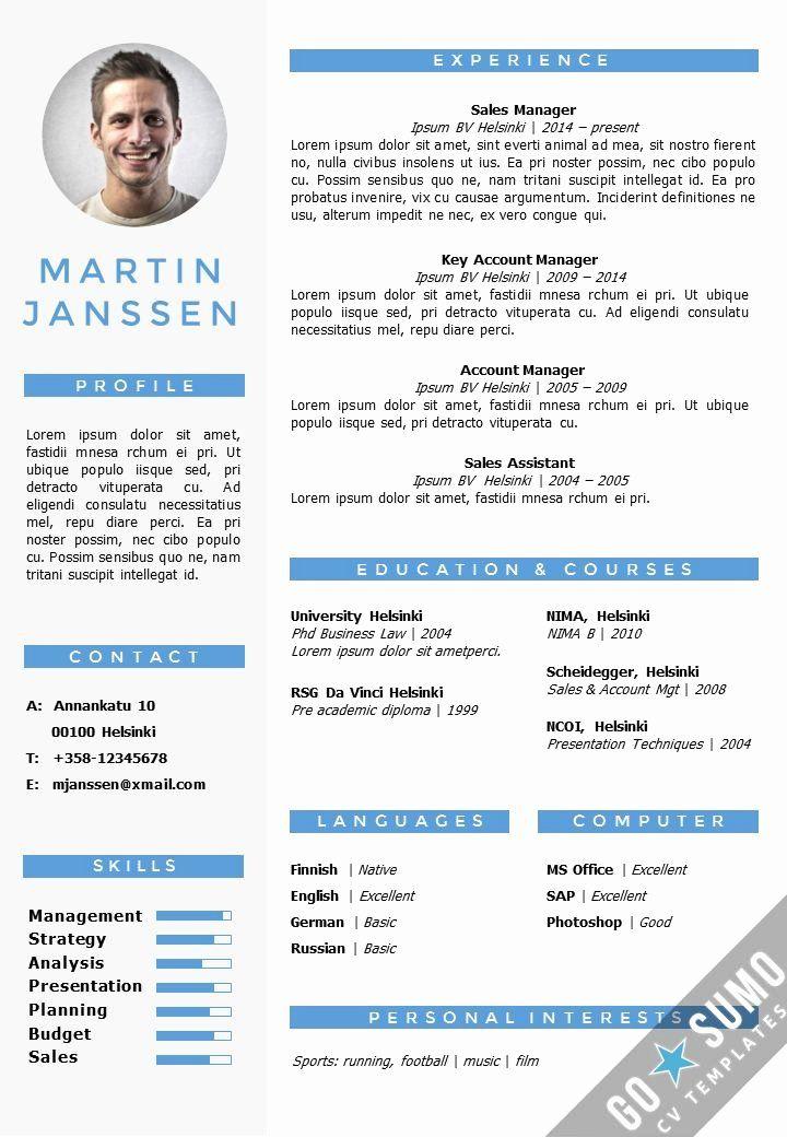 Resume Templates Free Word Inspirational Cv Resume