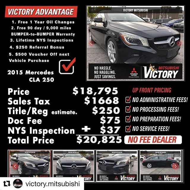 Much Love To This Dealership For Being Transparent And Truly Changing The Game Theres A New Sheriff In Town That S Dealership Mercedes Benz Cla 250 Instagram