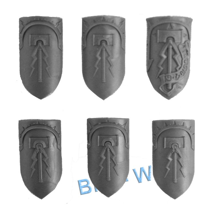 WARHAMMER BITS: STORMCAST ETERNALS LIBERATORS - SHIELDS x6 | eBay