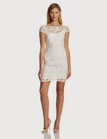 white shift dress: White Lace Shift Dress
