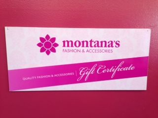 Have a birthday coming up but have no idea what to get her? not to worry we have you covered with a Montana's gift card!