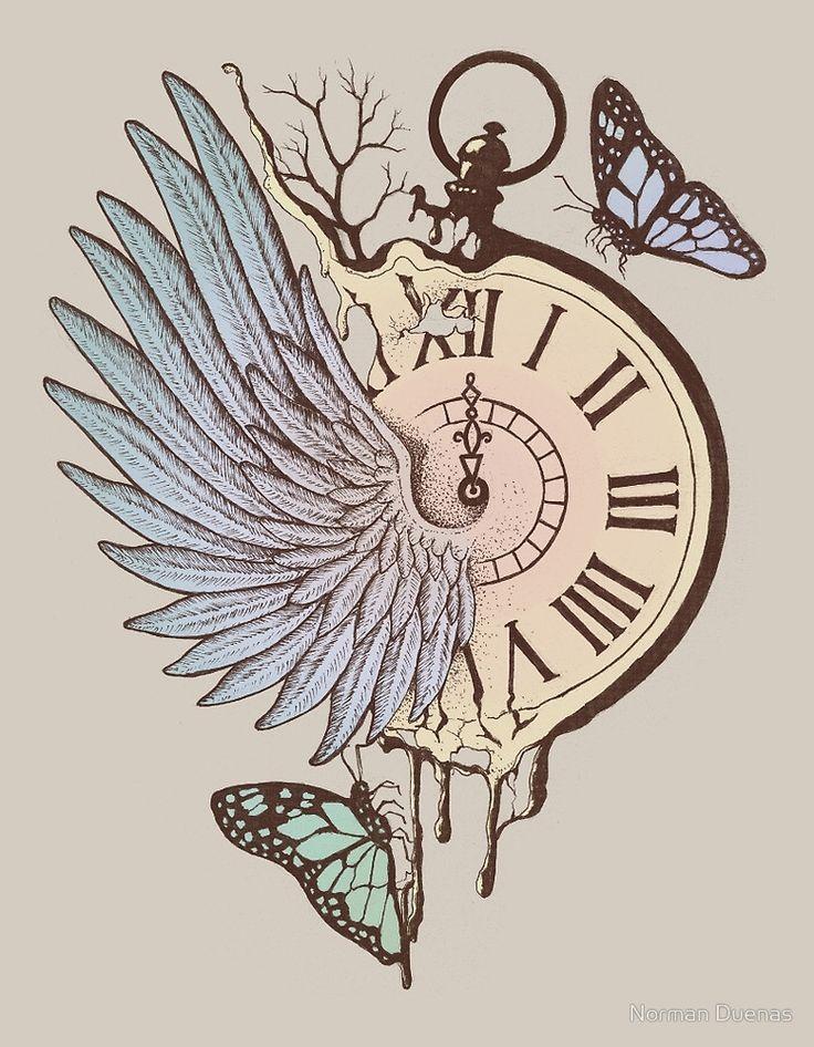 Le Temps Passe Vite (Time Flies) by Norman Duenas