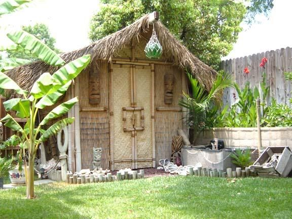 217 best Tiki Bar images on Pinterest DIY Balcony and Basement
