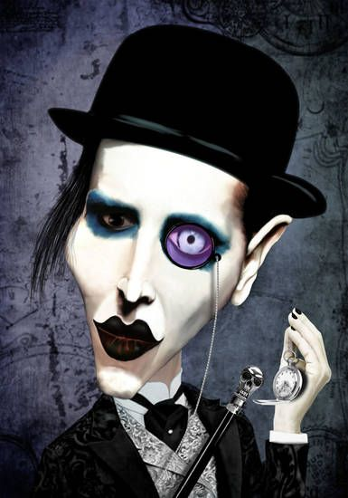 Marilyn Manson | digart | digart.pl