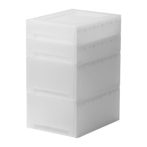 Great for keeping paper under control in a small space.  KUPOL Pull-out storage IKEA