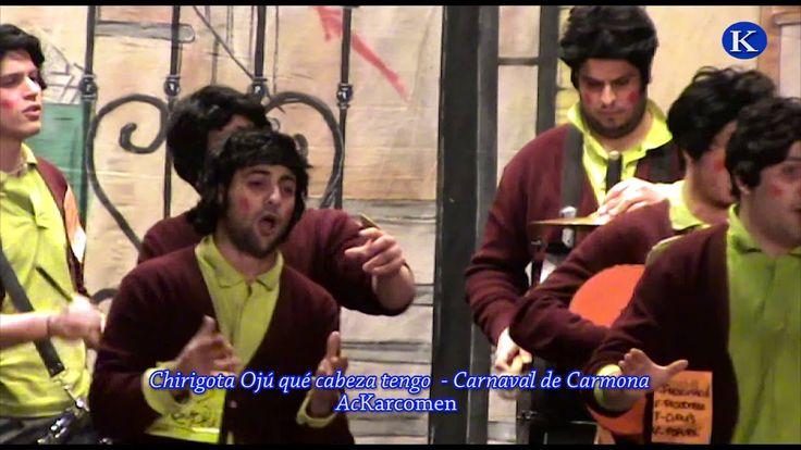 #Carnaval #Chirigota Oju que cabeza tengo de San Jose 1º premio Final Carnaval de #Carmona 2010