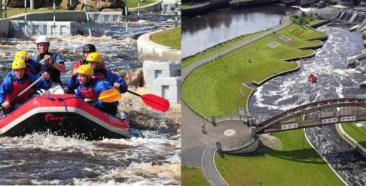 Great photo of the Tees Barrage #rafting #england