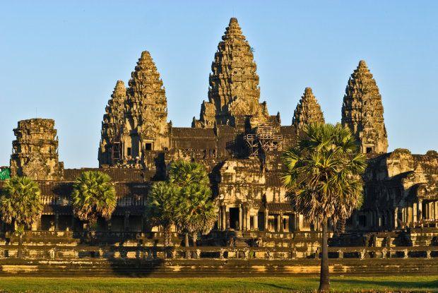 Najpiękniejsze miejsca na Ziemi. Angkor Wat (Kambodża)