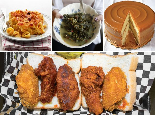 Nashville Hot Chicken Menu
