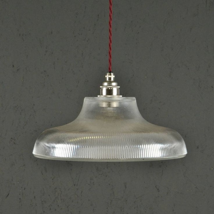 Prismatic Railway Pendant Light Vintage Industrial By Artifact Lighting