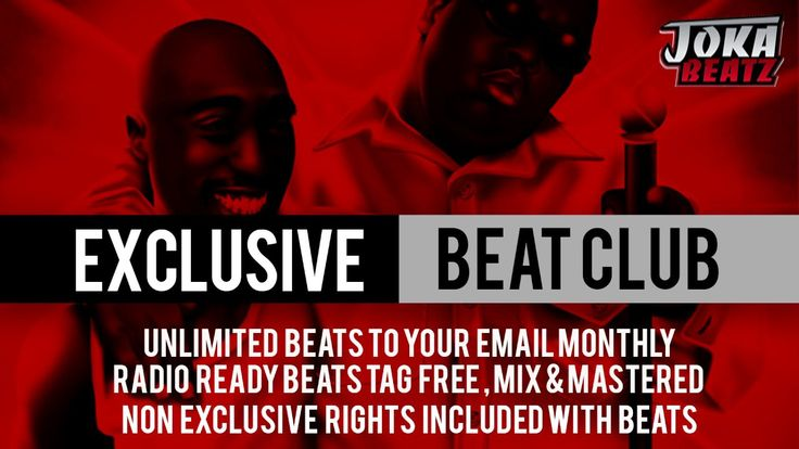Are You A Serious Musician? Are You Tired Of Paying Too Much For Beats??? Join My Exclusive Beat Club Today! Visit Our website & Get 3 FREE Beats http://jokabeatz.com/beat-club
