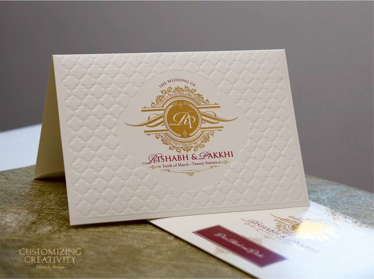 109 best Wedding card images – Customized Invitation Cards
