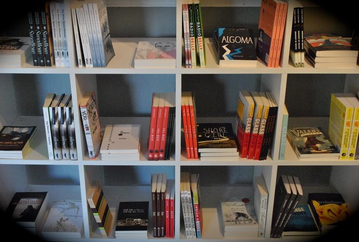 our shop - the book part