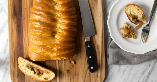 The Braided Apple Danish Loaf