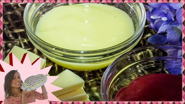 Glassa a Specchio Bianca e Colorata - Con Cioccolato Bianco