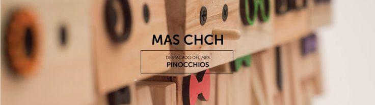 Destacado del mes Agosto 2015:  PINOCCHIOS Muñecos de madera a partir de materiales reutilizados de la construcción.