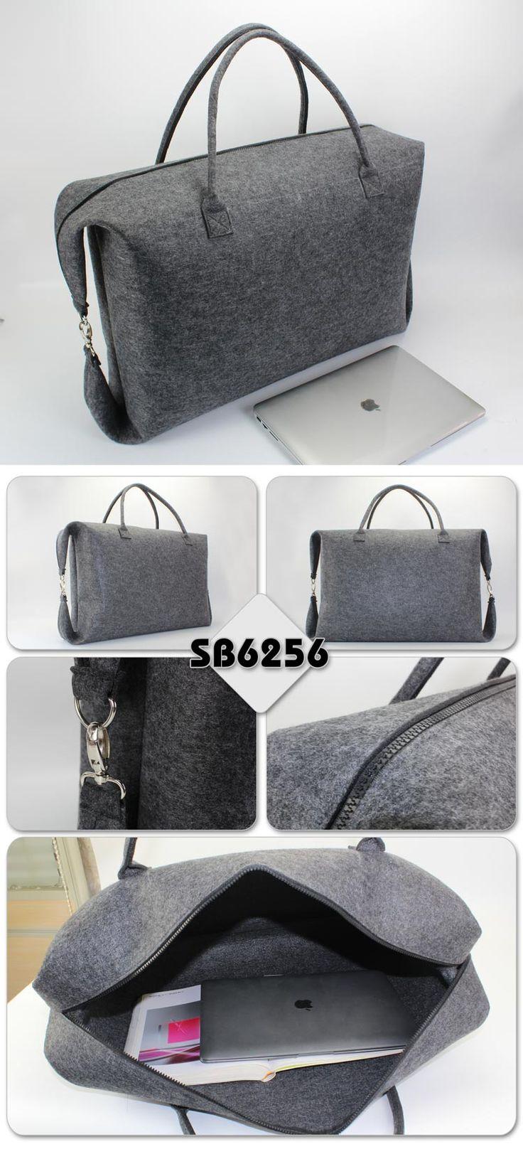 Felt Travel Bag  Description:        ● Material:3MM felt    ● Size:58*40*18CM    ● Big logo printing area    ● OEM design is welcome www.ideagroupigm.com