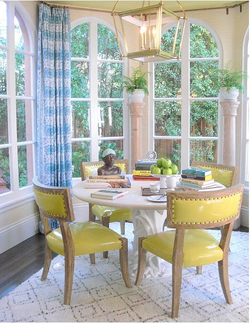 Palmer Weiss Breakfast Room More Elle Decor Showhouse As Promised Here Is The Beautiful And Kitchen