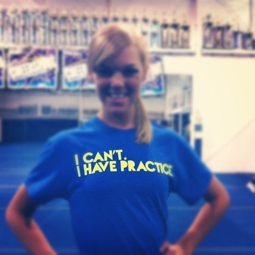 """""""I can't. I have practice."""" -Lexi Navarro (everyday of my life)"""