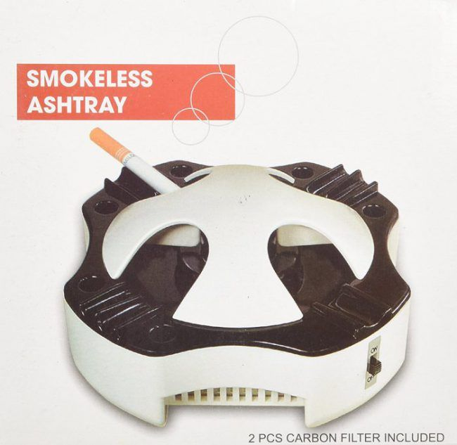 Smokeless Ashtray Get it now from: http://ashtrayparadise.siterubix.com/the-best-smokeless-ashtray