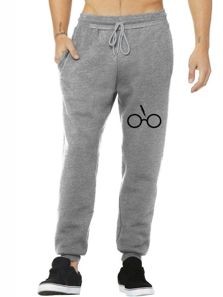 Calça Moletom Masculina Jogger Harry Potter Glasses ER_131