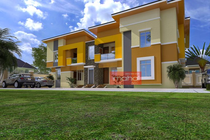 Contemporary Nigerian Residential Architecture: Agbeyi Apartment Series: 1,2,3 Bedroom Block of Flats