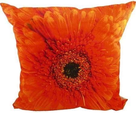 Sierkussen Bloem Oranje