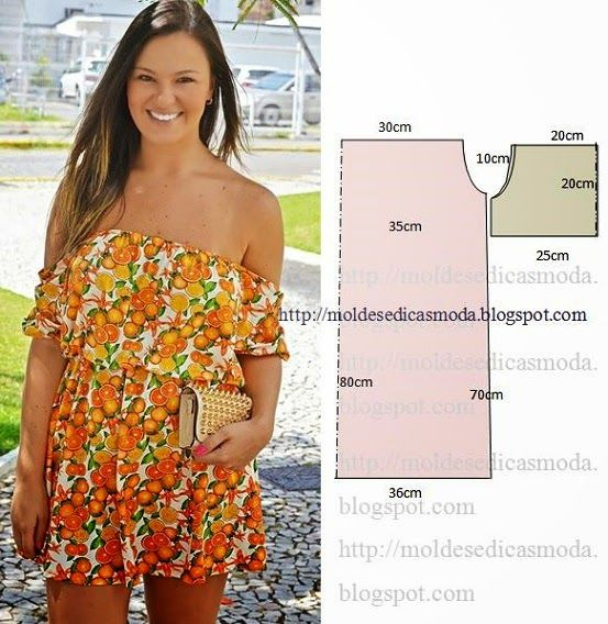 Moldes Moda por Medida: VESTIDO FÁCIL DE FAZER - 58
