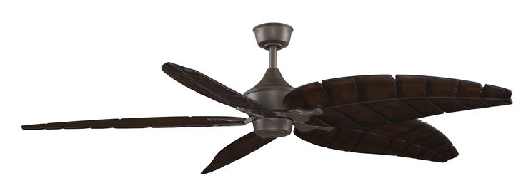 """Fanimation MAD3252 Big Island 80"""" 5 Blade Hanging Indoor Ceiling Fan with Revers Oil Rubbed Bronze Ceiling Fan Accessories Fan Motors Fan Motors"""