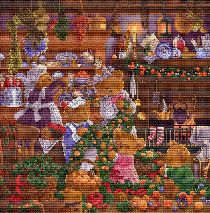 Картинка праздничная суета