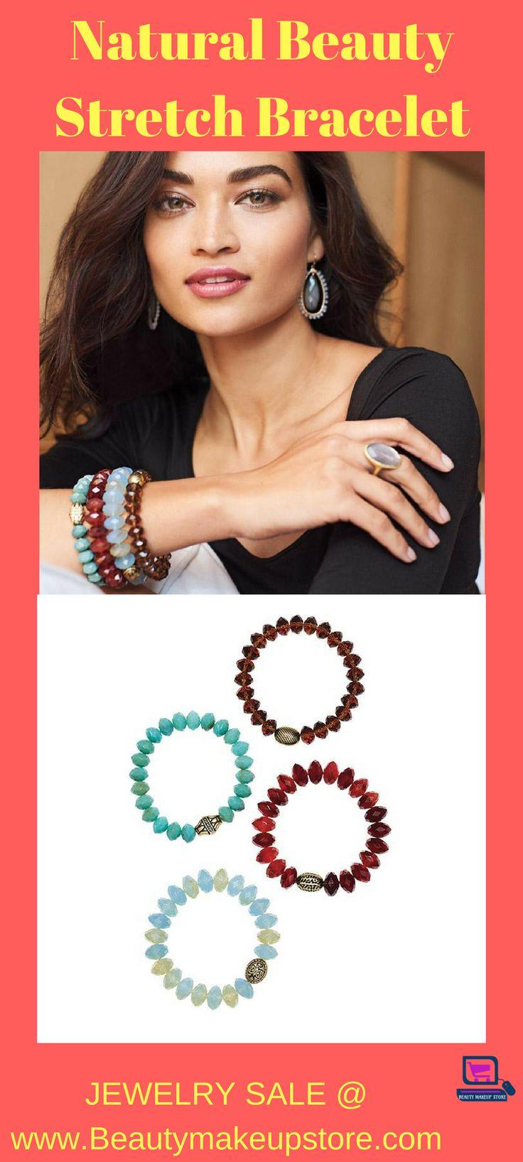 Natural Beauty Stretch Bracelet #stretchbracelets #bracelets #womenbracelet #jewelry #jewelryforsale #buyjewelry stretch bracelets diy | stretch bracelets | stretch bracelets ideas | stretch bracelets how to make | stretch bracelet tutorial | Stretch Bracelets | stretch bracelets | STRETCH BRACELETS |