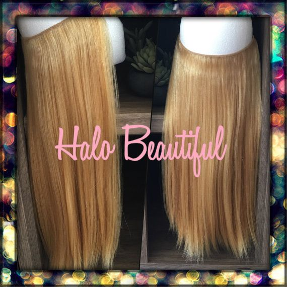 HALO HAIR EXTENSIONS 10 Length Hair by HaloBeautifulHair  #hair #extensions #hairstyle on Etsy