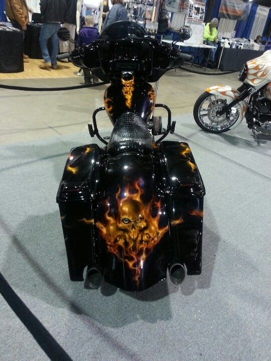 Custom Harley Bagger....Sick | Harley Davidson | Pinterest | Street glide, Harley softail and ...