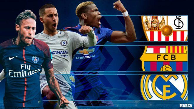 Sorteo Champions League 2017-18: Prueba de fuego para el fútbol español: ¿peligra su hegemonía en la Champions? | Marca.com http://www.marca.com/futbol/champions-league/2017/12/11/5a2e85a0268e3eff7d8b457e.html