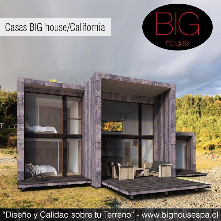 Casa California. Más detalles en www.bighousespa.cl