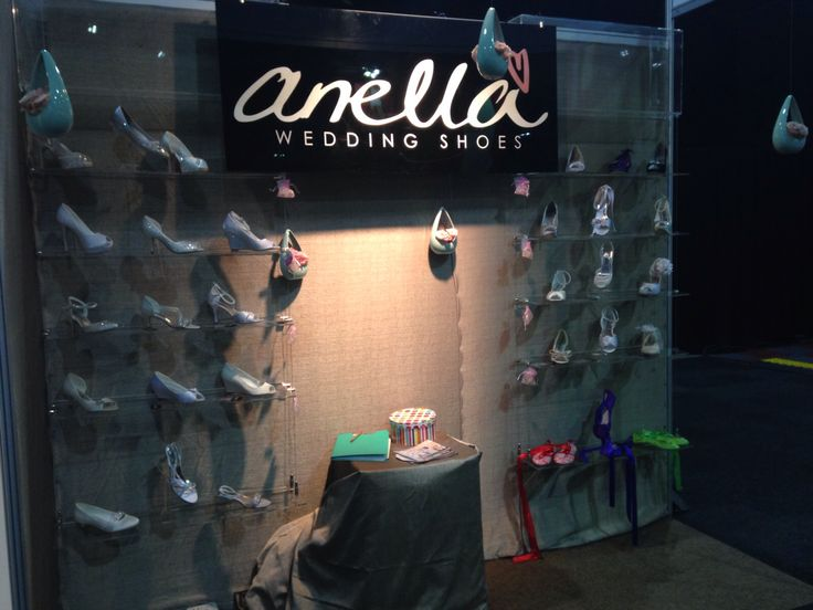 #AnellaShoes stand at The Wedding Expo Sept 2014